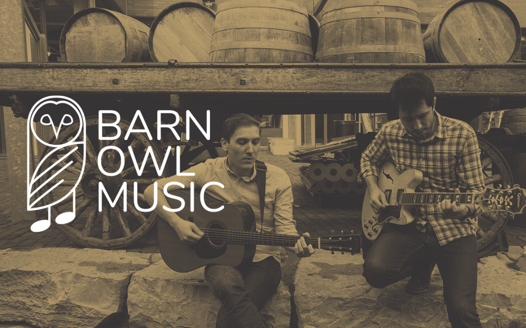 Barn Owl Music Instructors Ryan Carr and Felipe Pereira